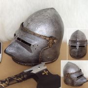 Childrens Medieval Knight Play Helmet